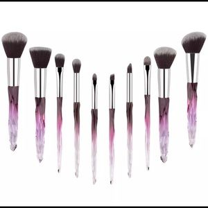 10 piece Makeup Brushes Set